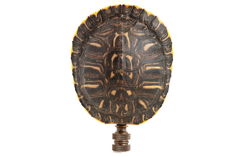 Turtle Shell Lamp Finial
