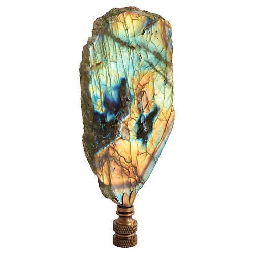 Labradorite Slab Lamp Finial