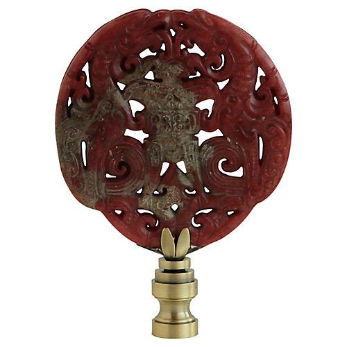 Asian Censer Lamp Finial