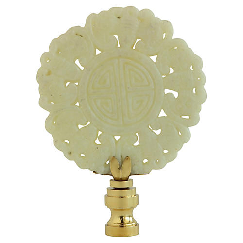 Chinese Good Luck Symbol Lamp Finial