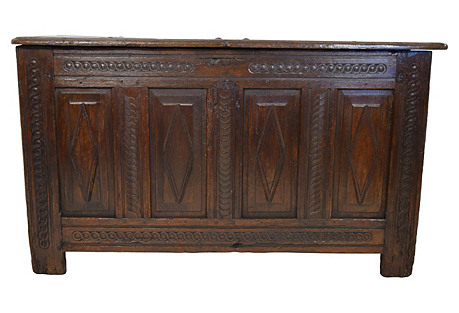 18th-C. French Blanket Chest