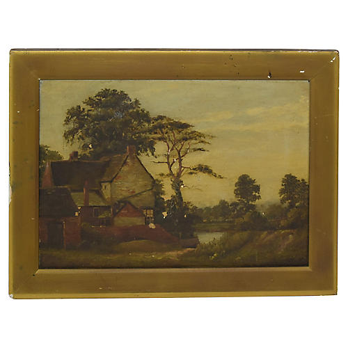 Landscape by Charles Knight