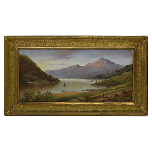 19th-C. Landscape by Henry W. Bell