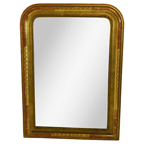 "19th-C. French ""Louis Philippe"" Mirror"