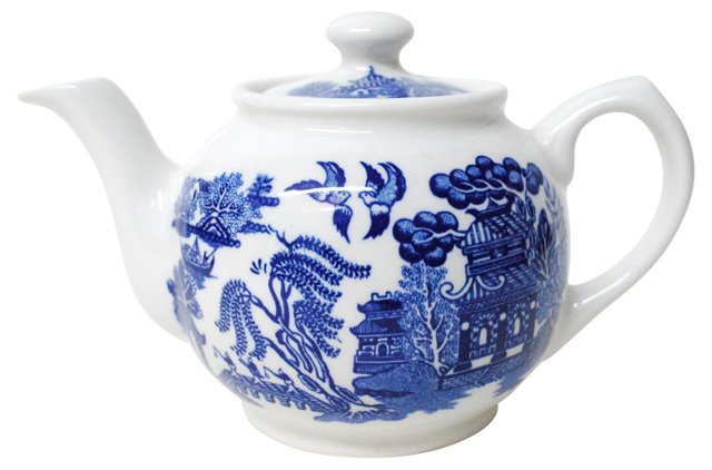 Single-Cup Willow Teapot