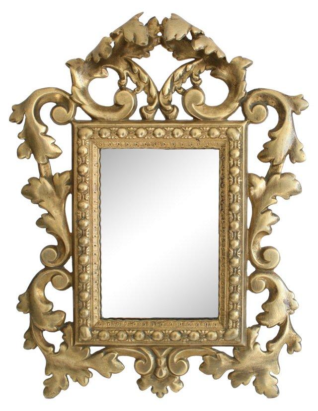 Antique Bronze Mirror