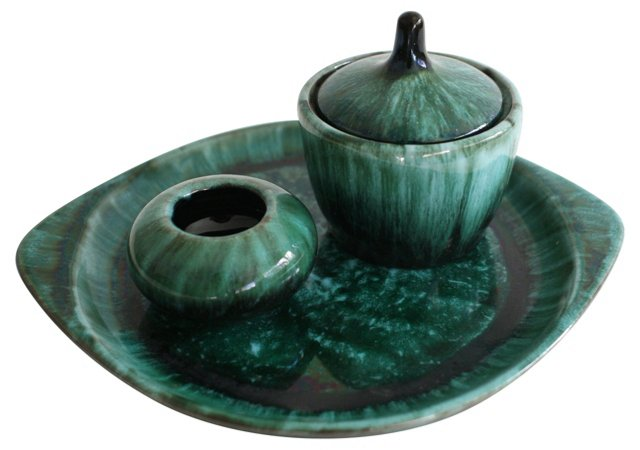 Blue Mountain Pottery, 3 Pcs