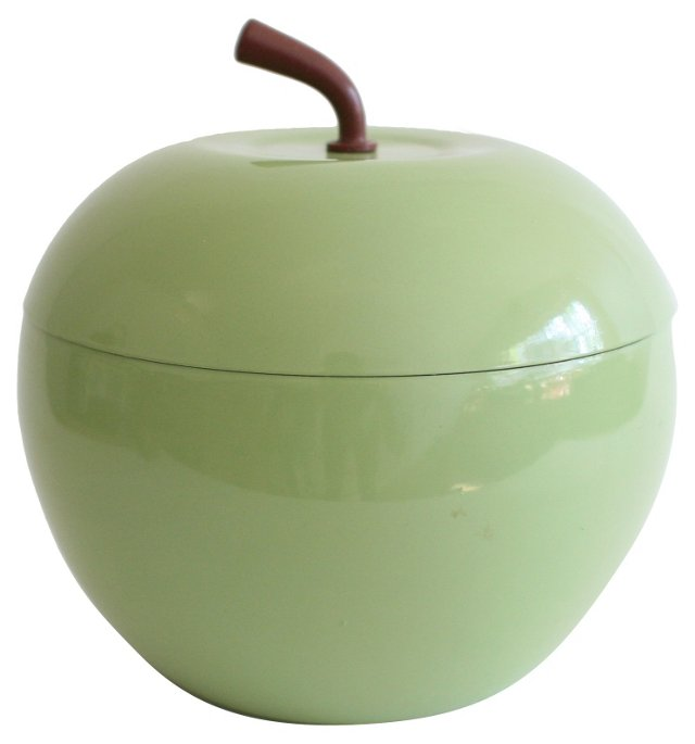 Apple Enamel Ice Bucket