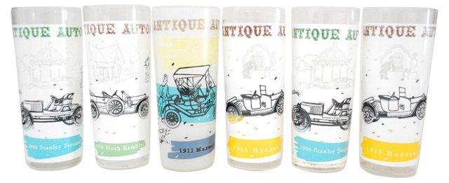 Automobile Glasses, S/6