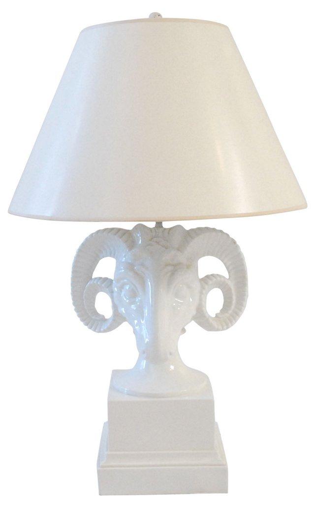 Ram's Head Lamp