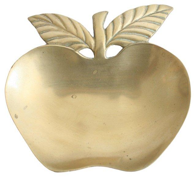 Brass Apple Catchall