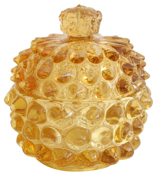 Italian Studded Glass Box