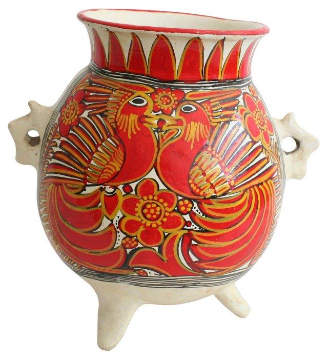 Mexican Handmade  Floor Vase