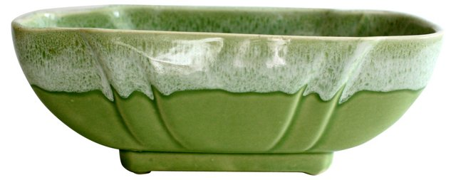 Midcentury Pale Green Catchall