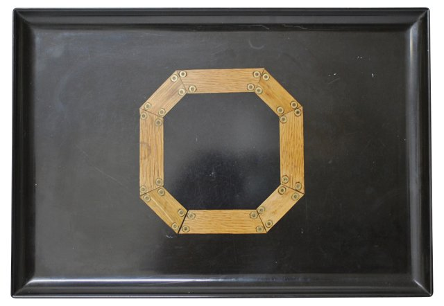 Octagon Couroc Tray