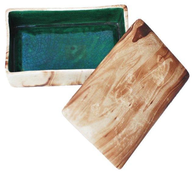 Midcentury Ceramic Box