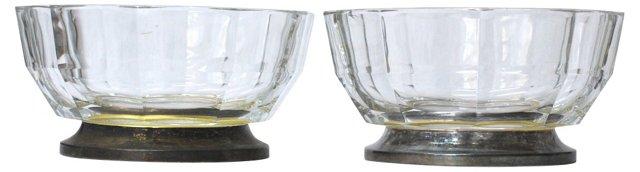Italian Silverplate Bowls, Pair