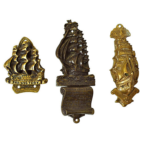 English Ship Door Knockers, S/3