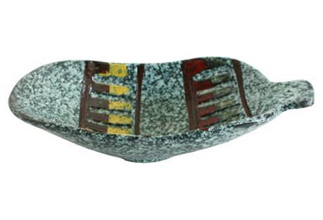 Midcentury Italian Ceramic  Catchall