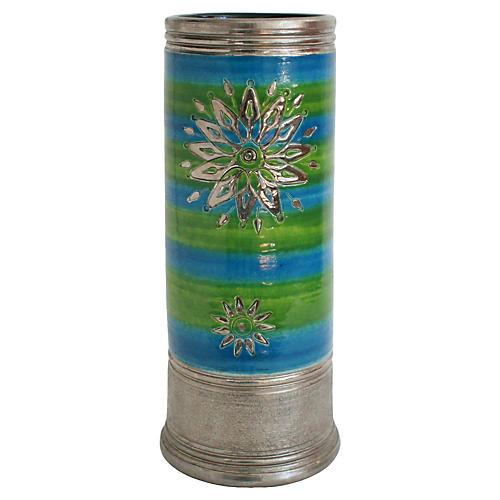 Tall Midcentury Rosenthal Pottery Vase