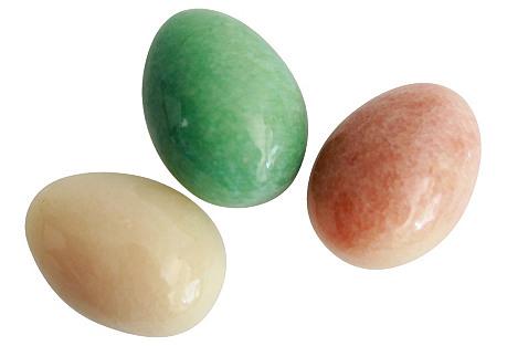 Alabaster Eggs,   S/3