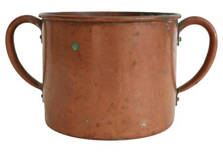 Copper Pot w/ Handles
