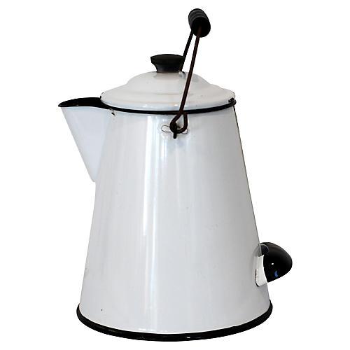 Belmont Enamel Coffeepot
