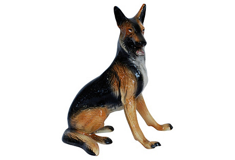 German Shepherd Figure