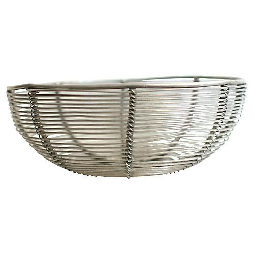 Midcentury Wire Basket