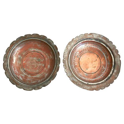 Egyptian Copper Bowls, Pr