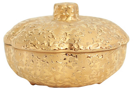 22 Karat Gold Decorated Box