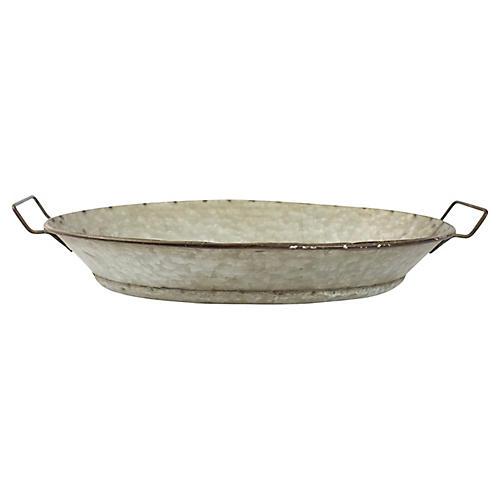 Hand-Forged Metal Pan