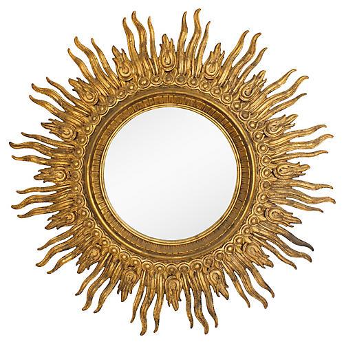 Monumental Sunburst Mirror