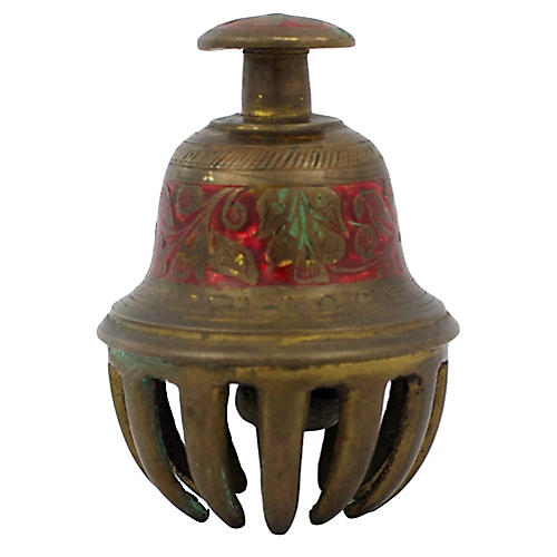 Brass Claw Bell