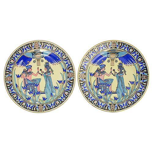 Limoges Egyptian Plates, Pr