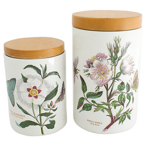 1970s English Canisters, Pr