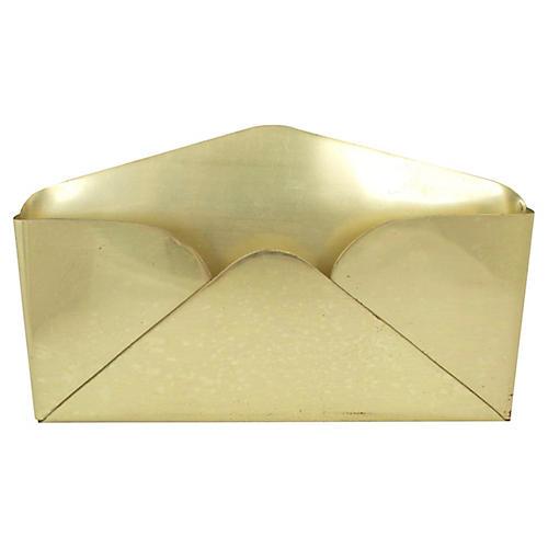 Large Brass Envelope