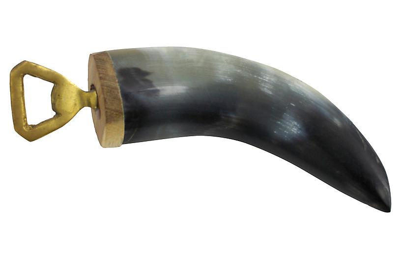 Mid-Century Horn Bottle Opener