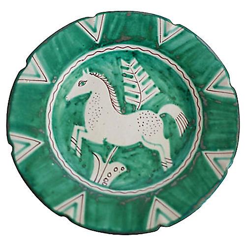 Mid-Century Italian Pottery Plate