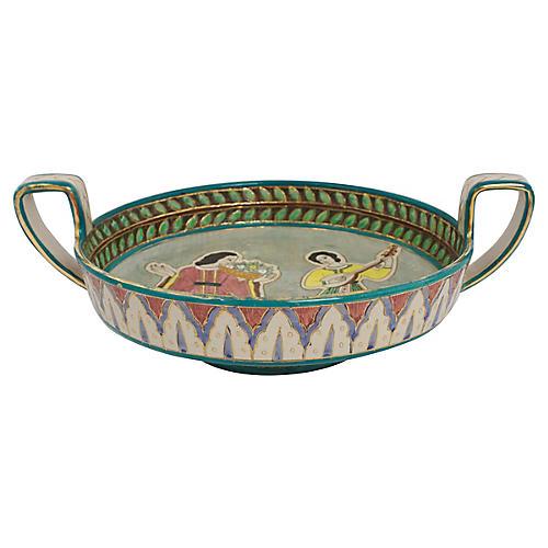 Deruta Sgraffito Pottery Bowl