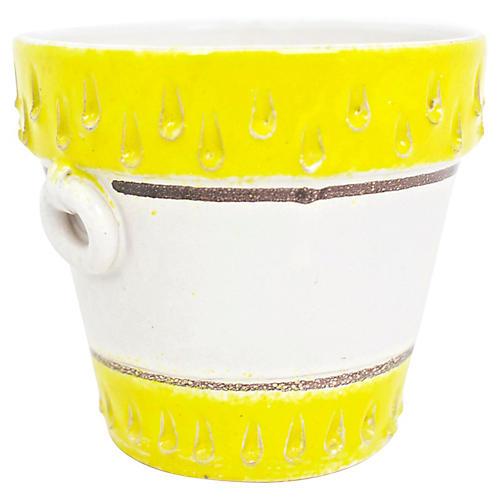 Italian Pottery Cachepot