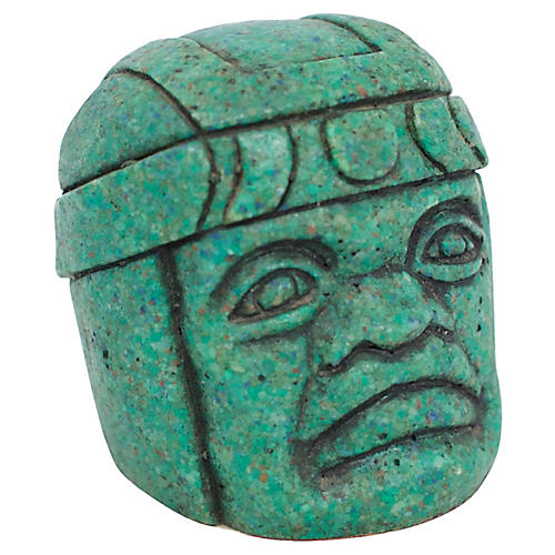 Olmec Stone Carving