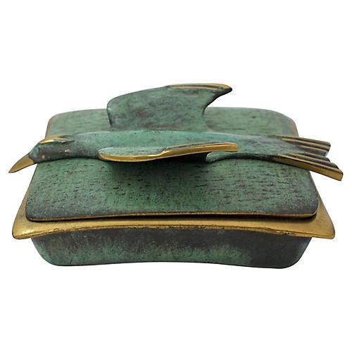 Mid-Century Modern Dayagi Bird Box