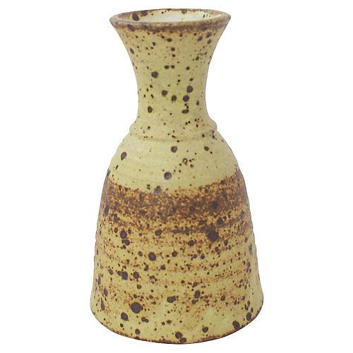 Signed Studio Pottery Vase