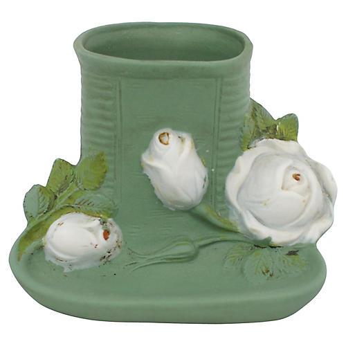 Victorian Porcelain Match Striker