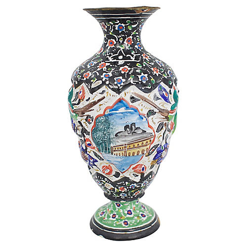 Turkish Copper Vase