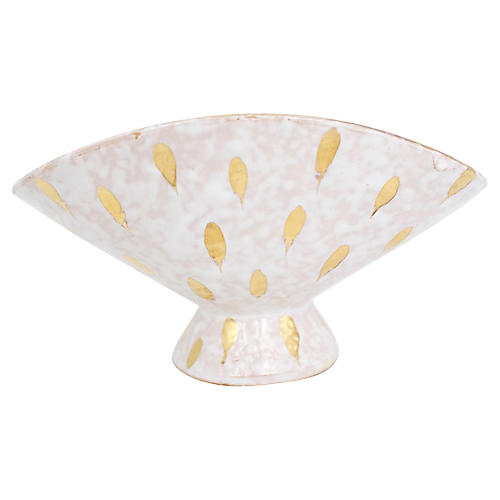 Italian Pedestal Bowl