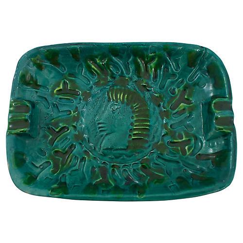 Mid-Century Italian Pottery Catchall