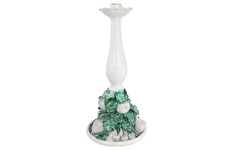 Italian Terracotta Candlestick