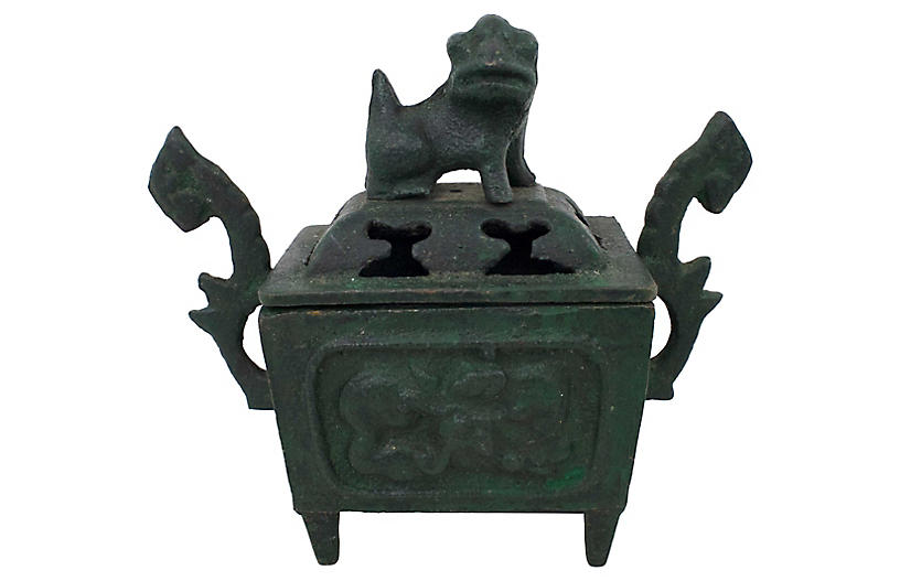 Early 20th C. Chinese Incense Burner